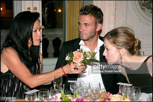 Lady Amanda Harlech Brad Kroenig Rachel Zimmermann Dinner at the Fendi Palazzo in Rome for the launch of the new perfume Palazzo