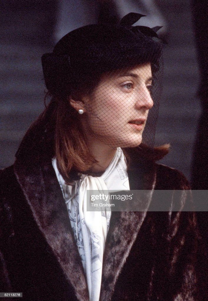 Lady Amanda Knatchbull, Tipped As A Bride For Prince Charlesin The 1970s. She Is The Granddaughter Of Earl Mountbatten