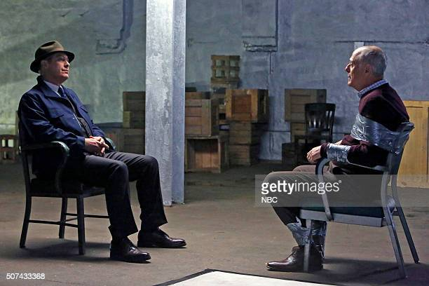 THE BLACKLIST Lady Ambrosia Episode 314 Pictured James Spader as Red Reddington Mark Blum as Noah