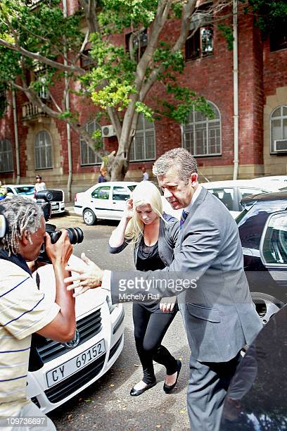 Lady Amelia Spencer arrives at the Magistrates Court charged with common assault in connection with an incident in December 2010 in which a man was...