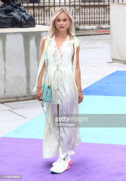 Lady Amelia Spencer seen during the Royal Academy of Arts Summer Exhibition Preview Party at the Royal Academy Piccadilly in London
