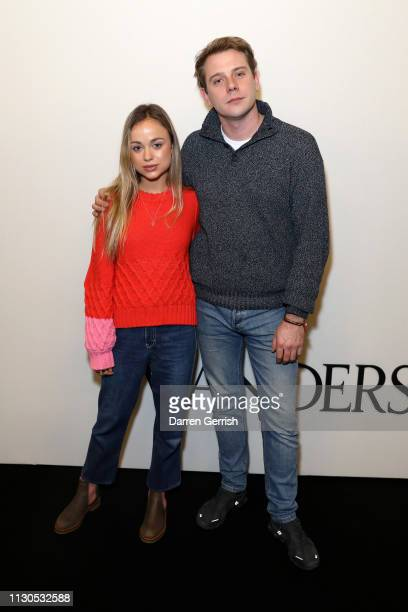 Lady Amelia Windsor and JW Anderson attends the JW Anderson show during London Fashion Week February 2019 at the Yeomanry House on February 18 2019...
