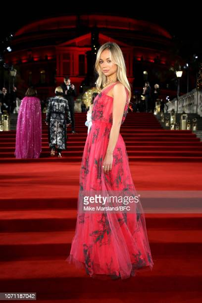 Lady Amelia Windsor arrives at The Fashion Awards 2018 In Partnership With Swarovski at Royal Albert Hall on December 10 2018 in London England