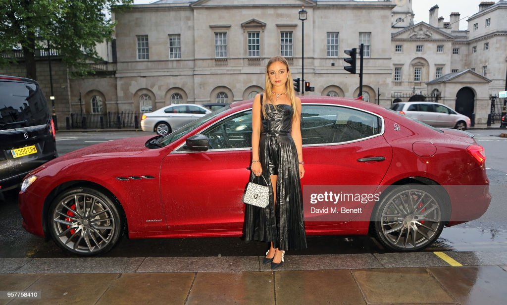 Maserati Chauffeurs Guests To Bvlgari FESTA High Jewellery Collection Gala Dinner In London : News Photo