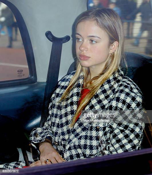 Lady Amelia Windsor attends a Christmas lunch for members of the Royal Family hosted by Queen Elizabeth II at Buckingham Palace on December 20 2016...