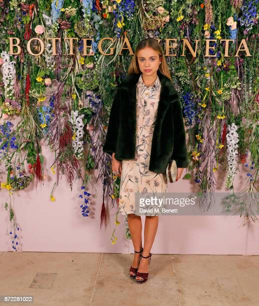 Lady Amelia Windsor attends Bottega Veneta's 'The Hand of the Artisan Cocktail Dinner' at Chiswick House And Gardens on November 9 2017 in London...