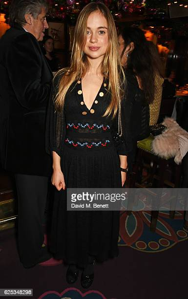 Lady Amelia Windsor attends the Alexander Gilkes and Annabel's Thanksgiving Dinner at Annabel's on November 23 2016 in London United Kingdom