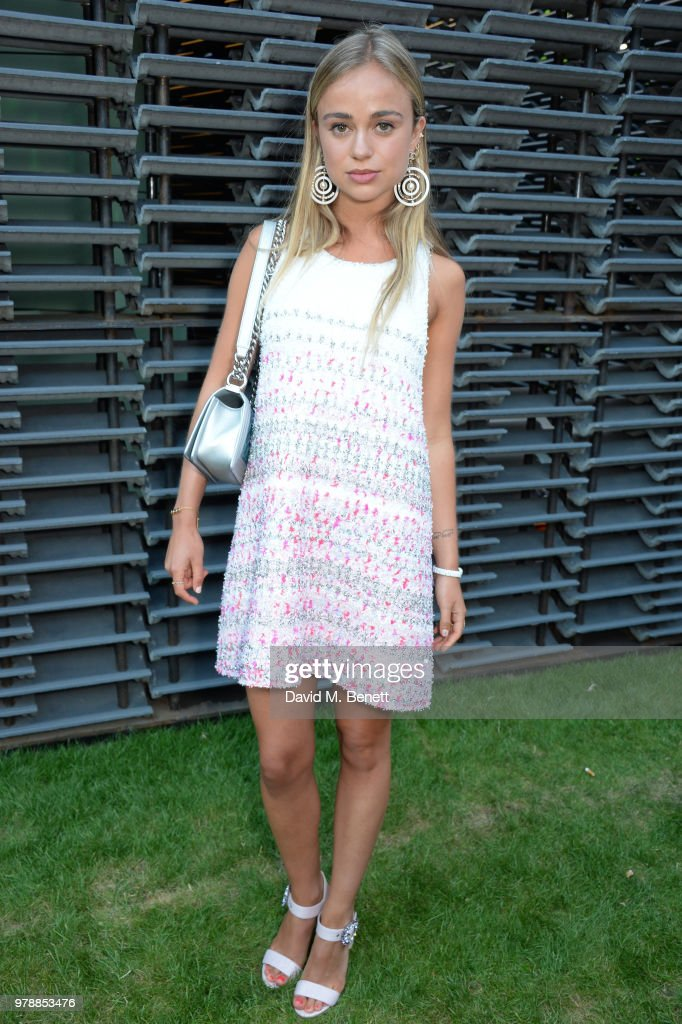 Lady Amelia Windsor attends the annual summer party in partnership with Chanel at The Serpentine Pavilion on June 19, 2018 in London, England.