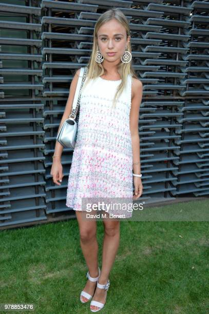 Lady Amelia Windsor attends the annual summer party in partnership with Chanel at The Serpentine Pavilion on June 19 2018 in London England