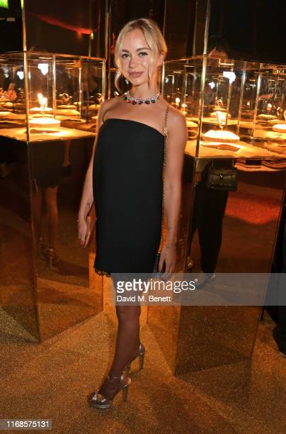 Lady Amelia Windsor attends the Bvlgari Serpenti Seduttori launch at the Roundhouse on September 15 2019 in London England