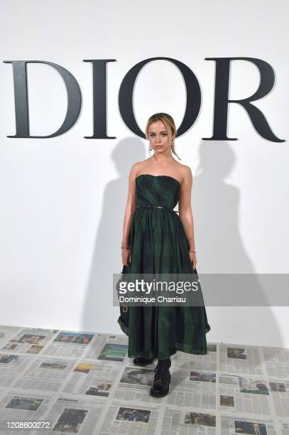 Lady Amelia Windsor attends the Dior show as part of the Paris Fashion Week Womenswear Fall/Winter 2020/2021 on February 25 2020 in Paris France
