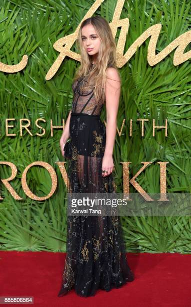 Lady Amelia Windsor attends The Fashion Awards 2017 in partnership with Swarovski at Royal Albert Hall on December 4 2017 in London England