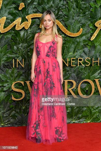 Lady Amelia Windsor attends the Fashion Awards 2018 in partnership with Swarovski at Royal Albert Hall on December 10 2018 in London England