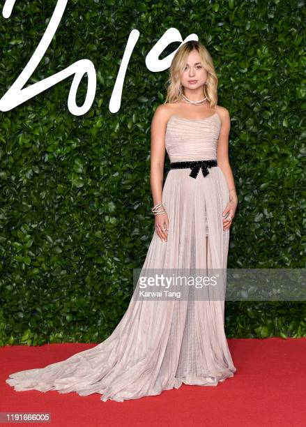 Lady Amelia Windsor attends The Fashion Awards 2019 at the Royal Albert Hall on December 02, 2019 in London, England.