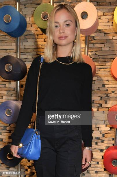 Lady Amelia Windsor attends the Mulberry Made to Last dinner on February 14 2020 in London England