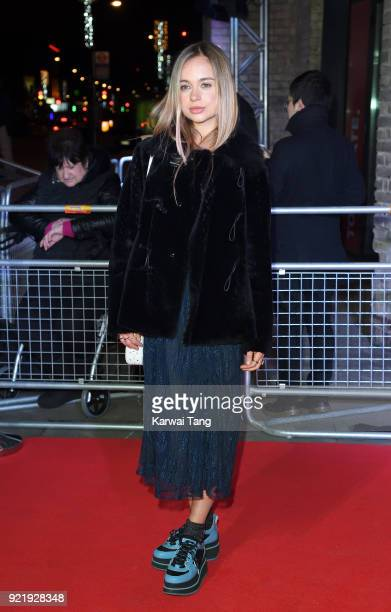 Lady Amelia Windsor attends the Naked Heart Foundation's Fabulous Fund Fair during London Fashion Week February 2018 at the Roundhouse on February 20...