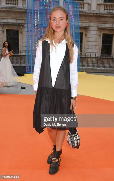 Lady Amelia Windsor attends the Royal Academy Of Arts Summer Exhibition preview party at Royal Academy of Arts on June 7 2017 in London England