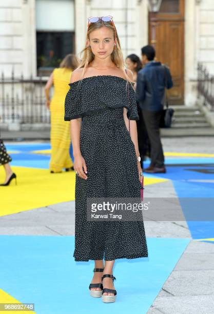 Lady Amelia Windsor attends the Royal Academy of Arts Summer Exhibition Preview Party at Burlington House on June 6 2018 in London England