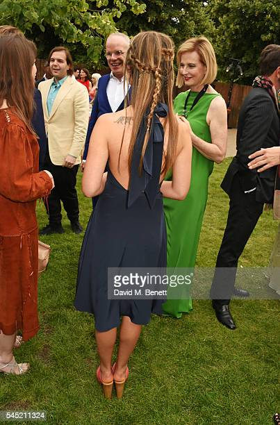 Lady Amelia Windsor attends The Serpentine Summer Party cohosted by Tommy Hilfiger on July 6 2016 in London England
