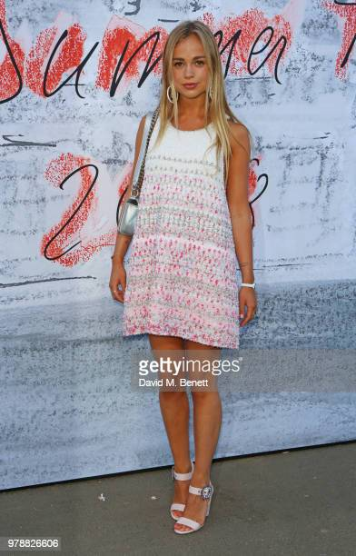 Lady Amelia Windsor attends the Serpentine Summper Party 2018 at The Serpentine Gallery on June 19 2018 in London England