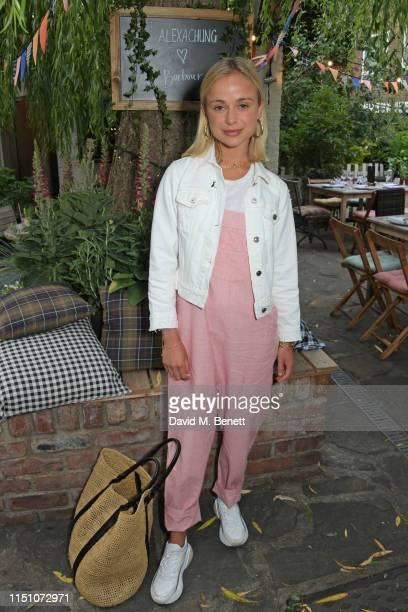 Lady Amelia Windsor attends the VIP London launch of the Barbour by ALEXACHUNG collection at The Albion on June 20 2019 in London England
