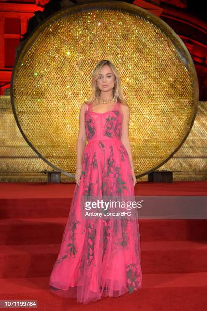 Lady Amelia Windsor during The Fashion Awards 2018 In Partnership With Swarovski at Royal Albert Hall on December 10 2018 in London England