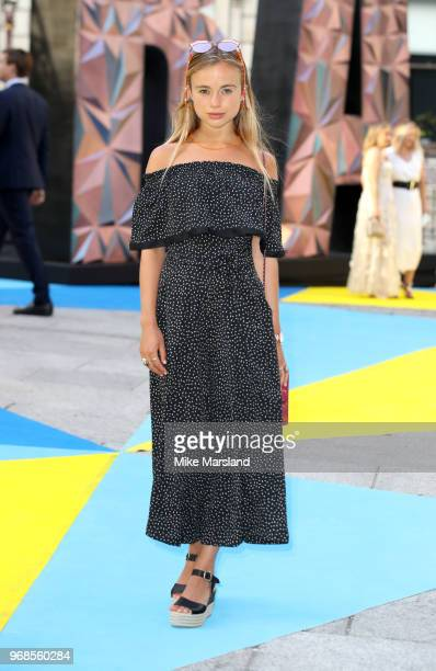 Lady Amelia Windsor Thomas attends the Royal Academy of Arts Summer Exhibition Preview Party at Burlington House on June 6 2018 in London England