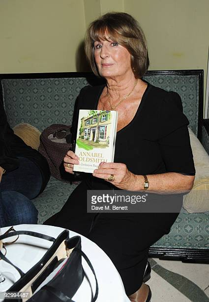 Lady Annabel Goldsmith attends the book launch party for her new book No Invitation Required at Claridge's on November 11 2009 in London England