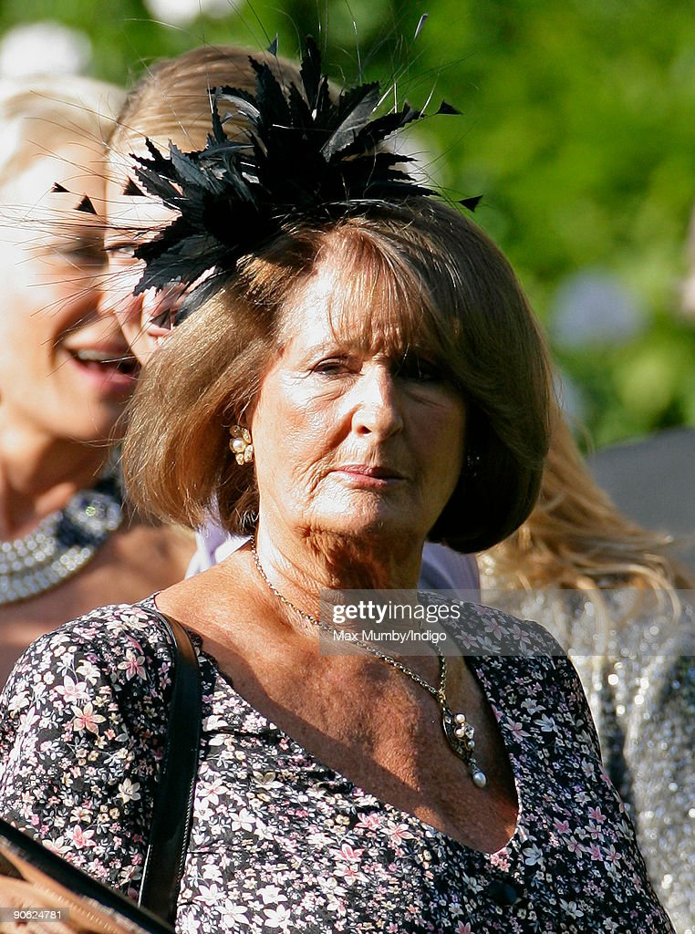 Guests Leave For Lord Freddie Windsor's Wedding : News Photo