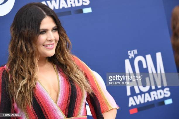 Lady Antebellum arrives for the 54th Academy of Country Music Awards on April 7 2019 in Las Vegas Nevada