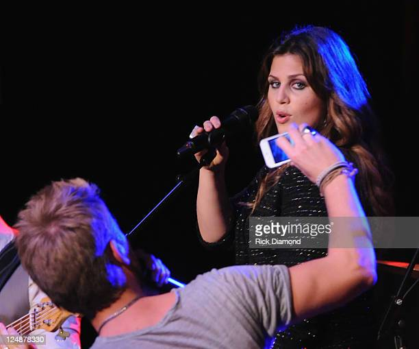 Lady Antebellum's Charles Kelley and Hillary Scott perform songs from there upcoming release Own The Night along with eariler favorites during the...