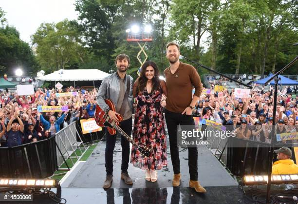 AMERICA Lady Antelbellum perform live from Central Park as part of the GMA Summer Concert Series on 'Good Morning America' Friday July 14 airing on...