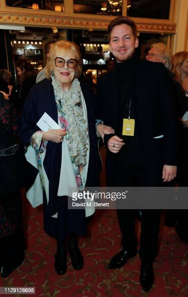 Lady Antonia Fraser attends the press night performance of 'Ian McKellen On Stage' a special one man show celebrating his 80th birthday at Duke Of...
