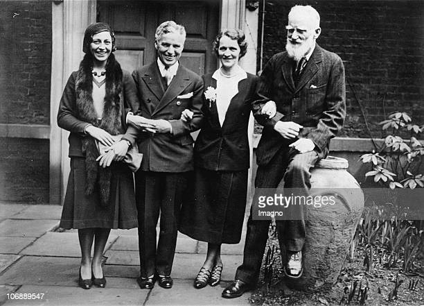 Lady Astor the first woman to serve as a member of the British House of Commons holds a reception breakfast in the honor of Charlie Chaplin on his...