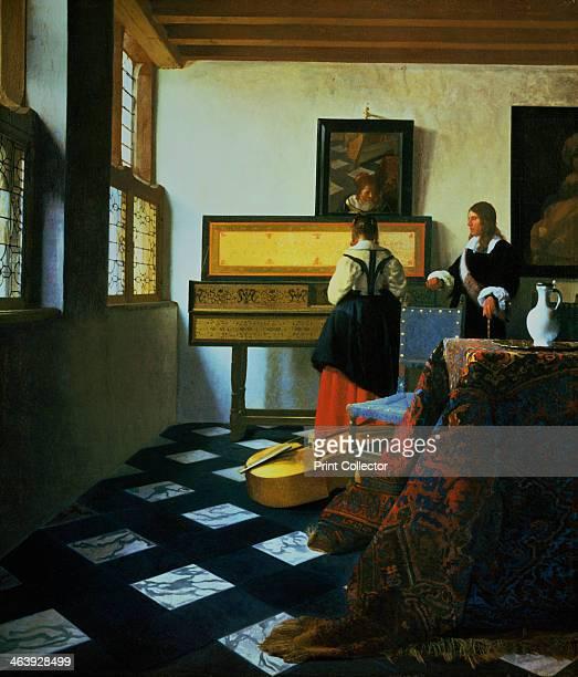 'Lady at a Virginal' c16521675