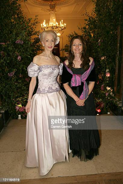 Lady Barbara Judge and Sarah Faberge attends the Royal Academy Summer Ball at Royal Academy of Arts on June 20 2011 in London England