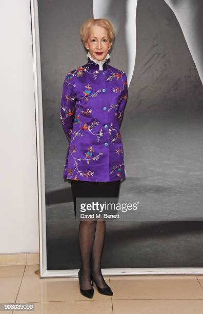 Lady Barbara Judge attends the opening night drinks reception for the English National Ballet's Song Of The Earth / La Sylphide at St Martins Lane on...
