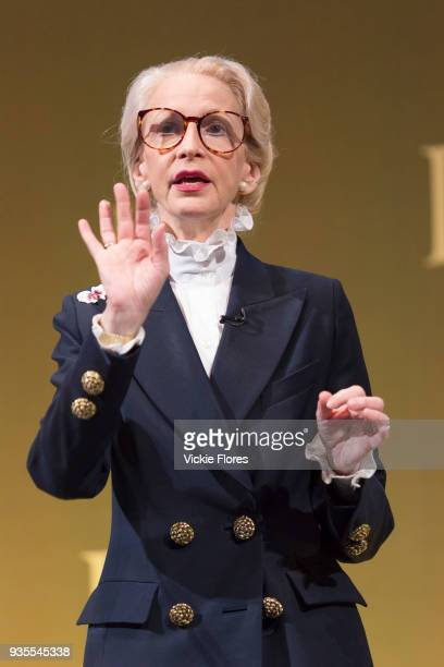 Lady Barbara Judge chairman of the Institute of Directors speaking at the Institute of Directors Annual Convention on October 10th 2015