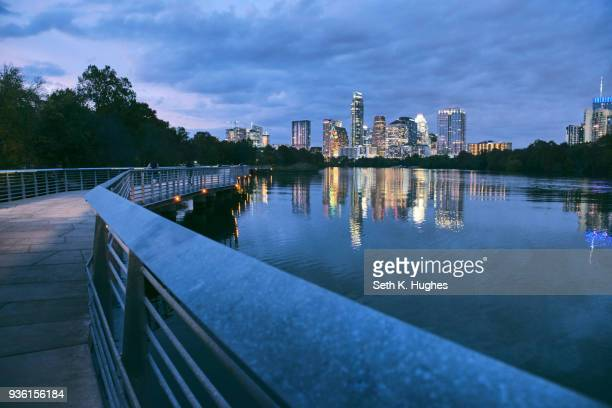 lady bird lake, austin, texas, usa - austin texas stock pictures, royalty-free photos & images
