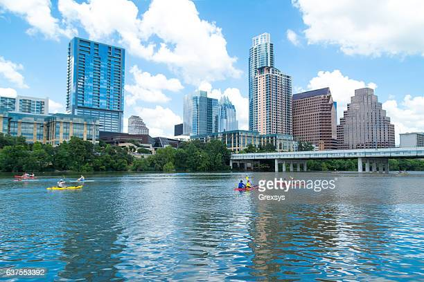 lady bird lake - austin texas stock pictures, royalty-free photos & images
