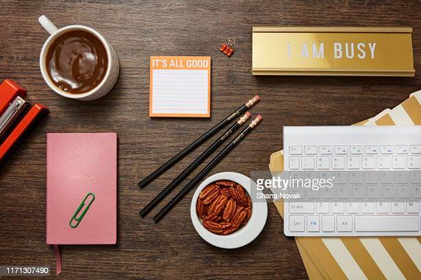 "lady boss desk - ""shana novak"" stock pictures, royalty-free photos & images"