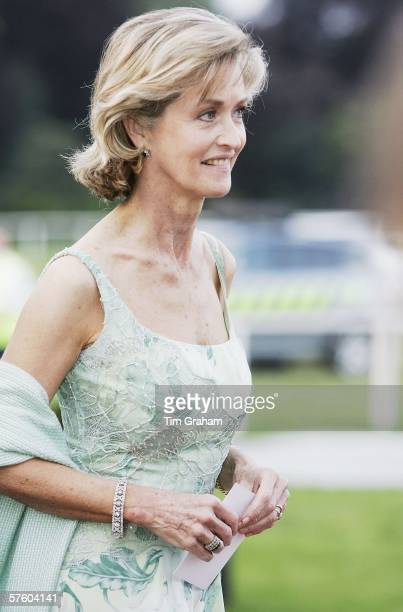 Lady Brabourne arrives for a party/dinner at the Royal Windsor Horse Show on May 12 2006 in Windsor England