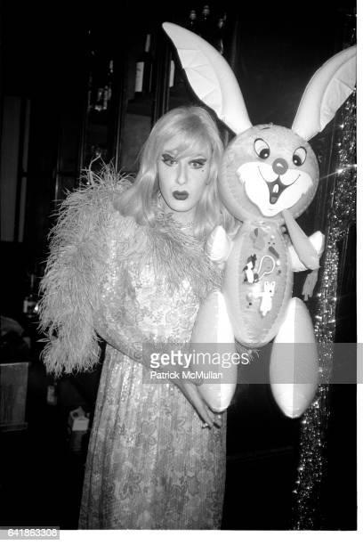Lady Bunny at Area. January 9, 1986.