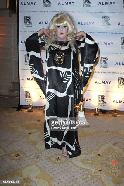 Lady Bunny attend THE ALMAY CONCERT to Celebrate the RAINFOREST FUND'S 21st Birthday at The Plaza Hotel on May 13th 2010 in New York City