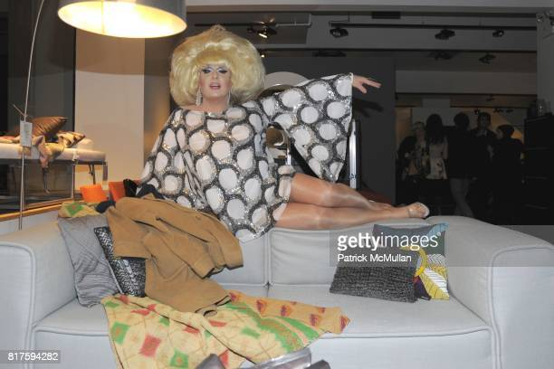 Lady Bunny attends 8TH ANNUAL BoCONCEPT/KOLDESIGN HOLIDAY PARTY at BoConcept on December 14 2010 in New York City