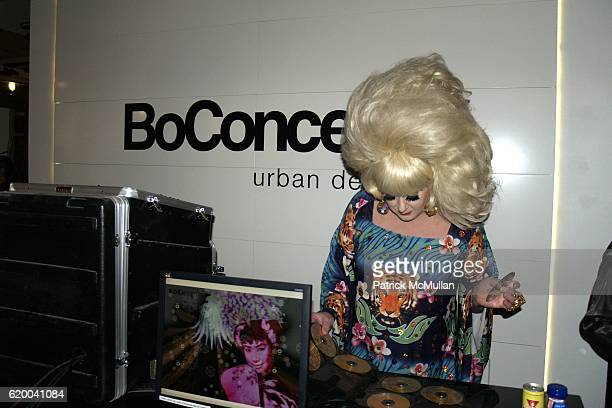 Lady Bunny attends KolDesign and BoConcept's annual Holiday party at BoConcept Store on December 16 2008 in New York City