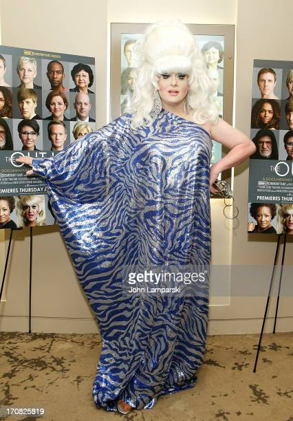 """Lady Bunny attends """"The Out List"""" New York Premiere on June 18, 2013 in New York, United States."""