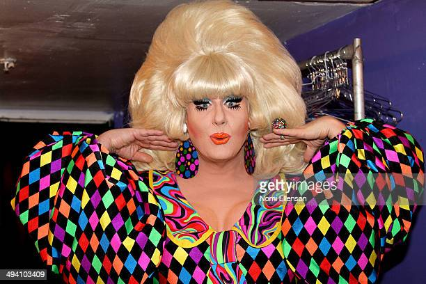 """Lady Bunny attends the preview of Lady Bunny's """"Clowns Syndrome"""" at The Cabaret Theater at Escuelita Night Club on May 27, 2014 in New York City."""