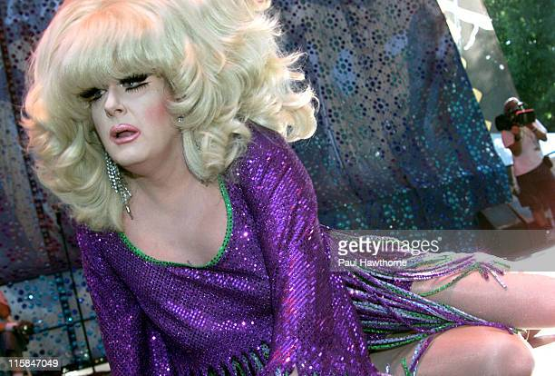 Lady Bunny during 2003 Howl! Festival - Wigstock - New York at Tompkin Square Park in New York City, New York, United States.