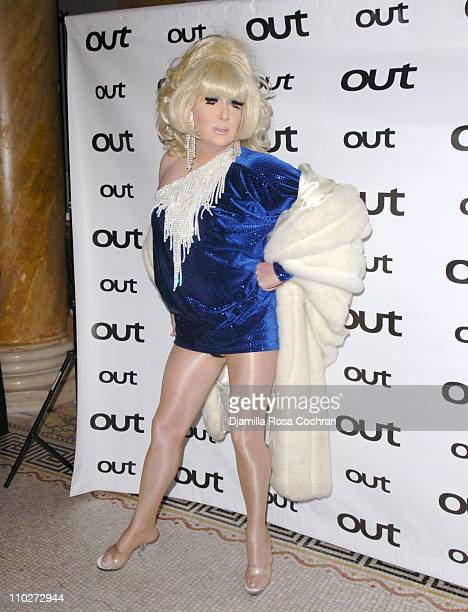 """Lady Bunny during Out Magazine celebrates the 11th Annual """"Out 100 Awards"""" at Capitale in New York City, New York."""